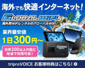 海外でも快適インターネット!Global Wi-Fi