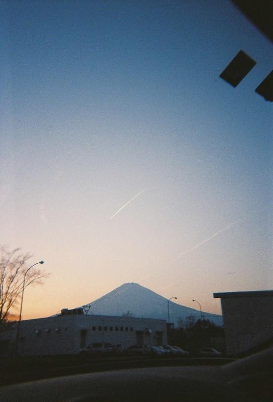 35mmフィルム富士山
