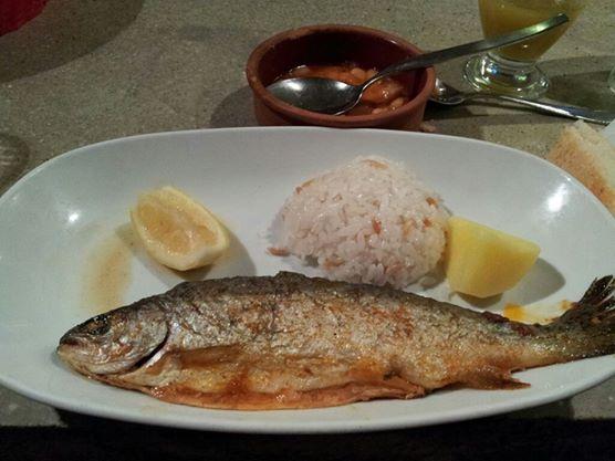 トルコ料理魚