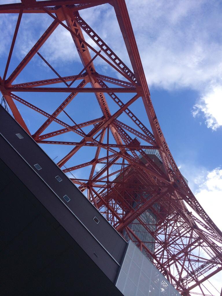 東京タワー鉄骨