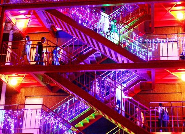 東京タワー鉄骨夜景