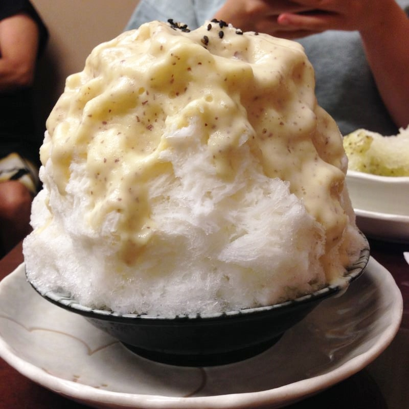 """【笹塚・みなと屋】アボカドのかき氷!?謎の""""野菜かき氷""""を検証してきた"""