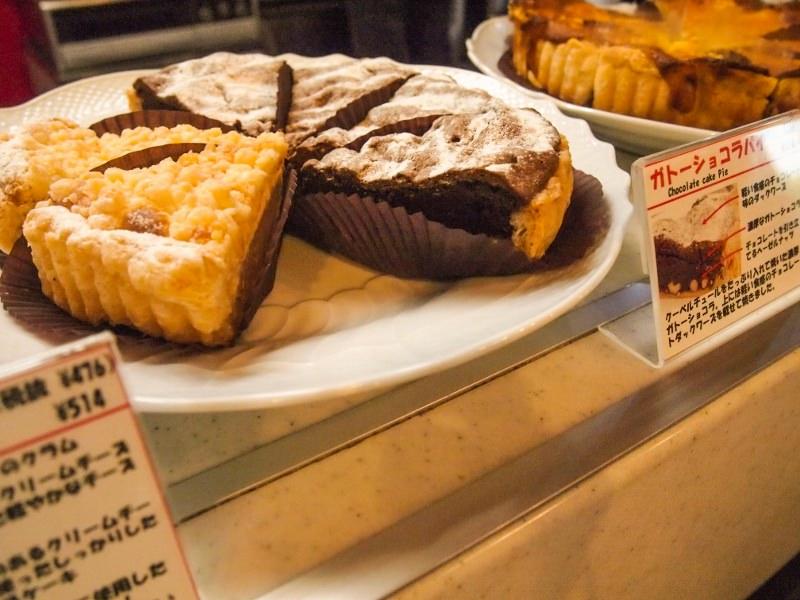 ボンマモンのパイ・チーズケーキとガトーショコラ