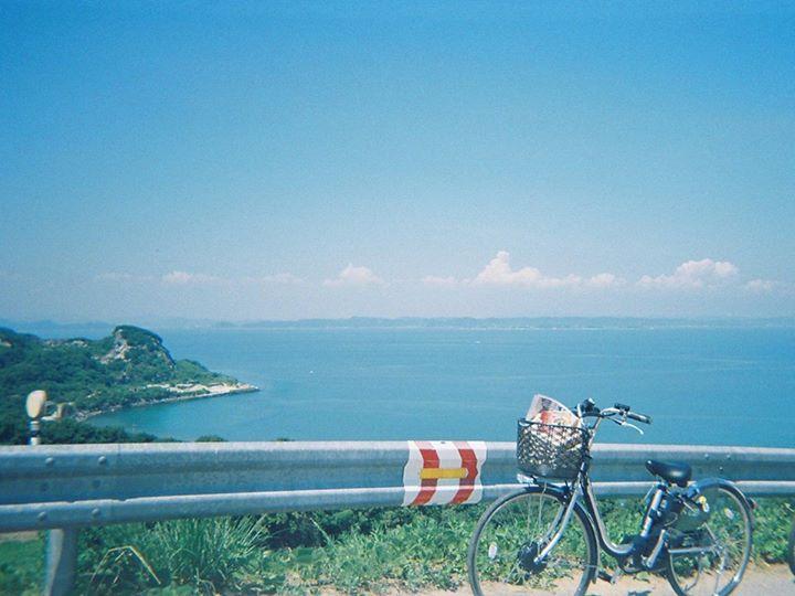 豊島から見下ろす瀬戸内海