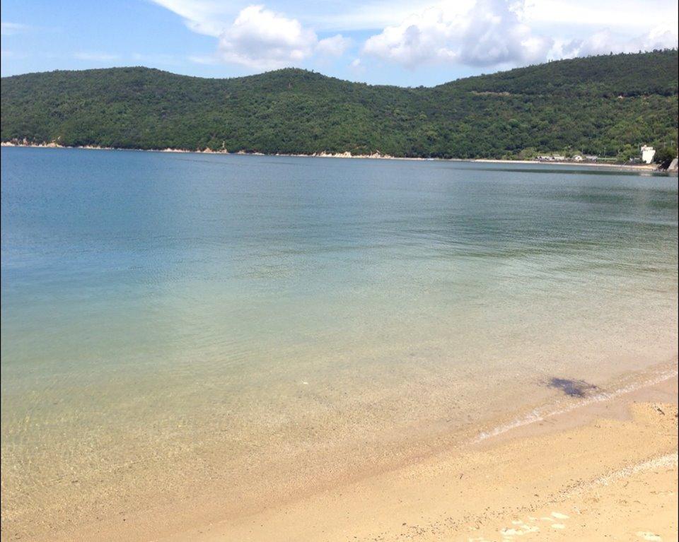 小豆島の浜辺
