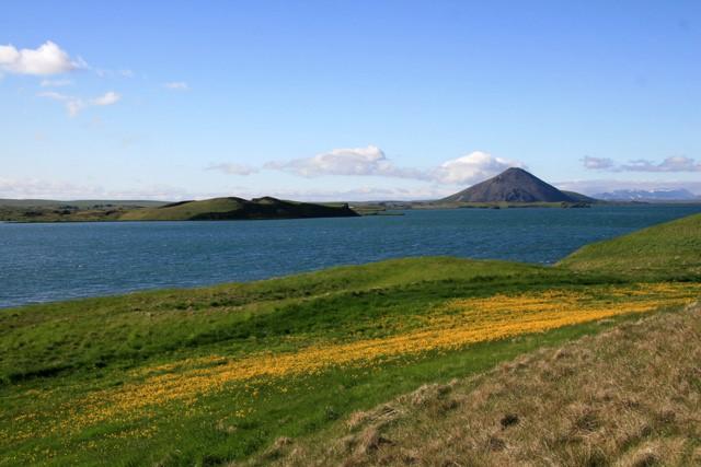 アイスランド 丘