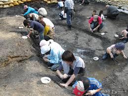 久慈琥珀採掘体験