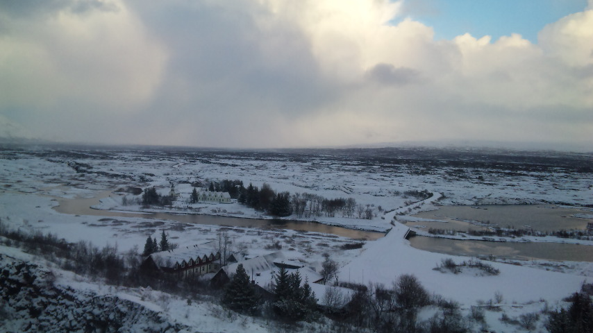 アイスランド雪