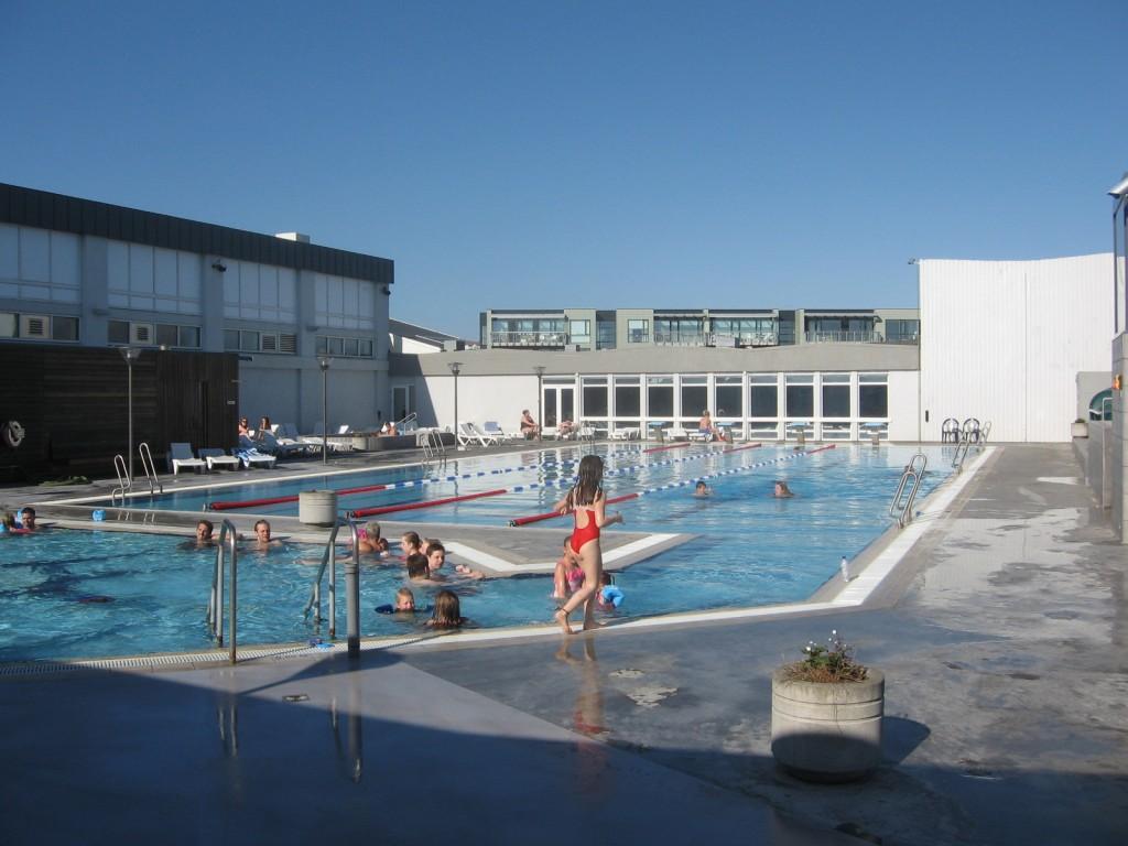 アイスランド温水プール