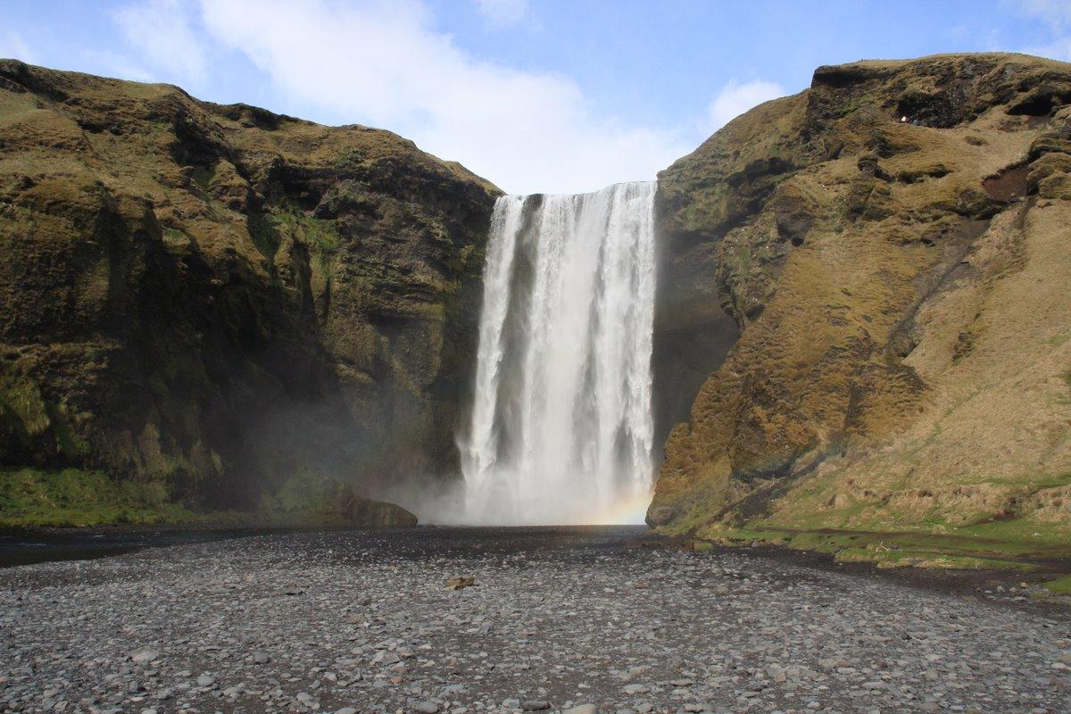 アイスランド滝