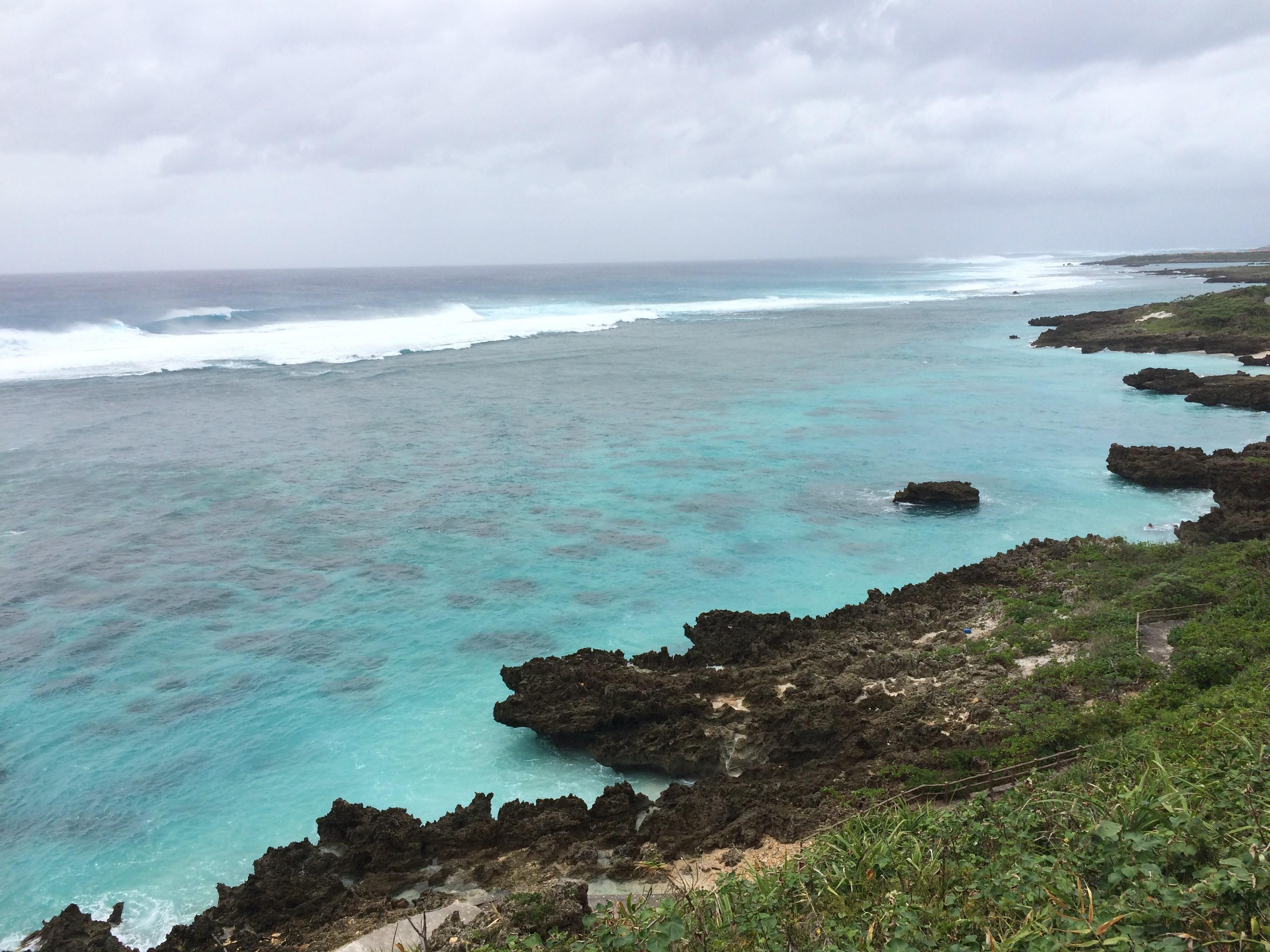 Miyako island's sea