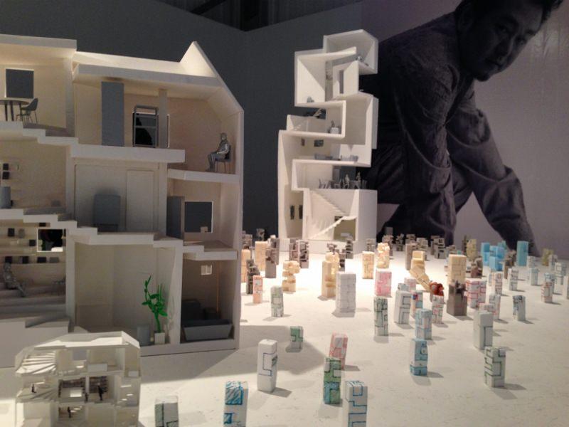 建築模型とその提案書
