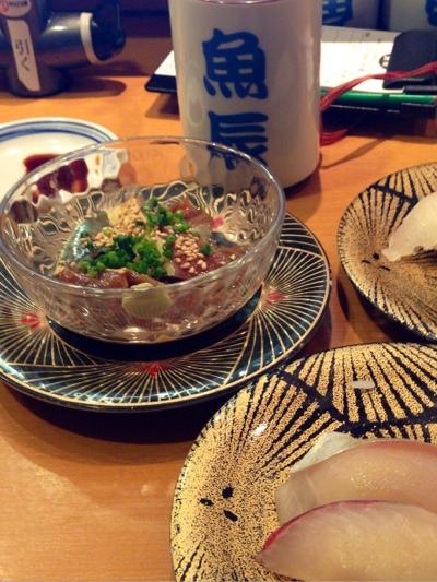 寿司とごま鯖