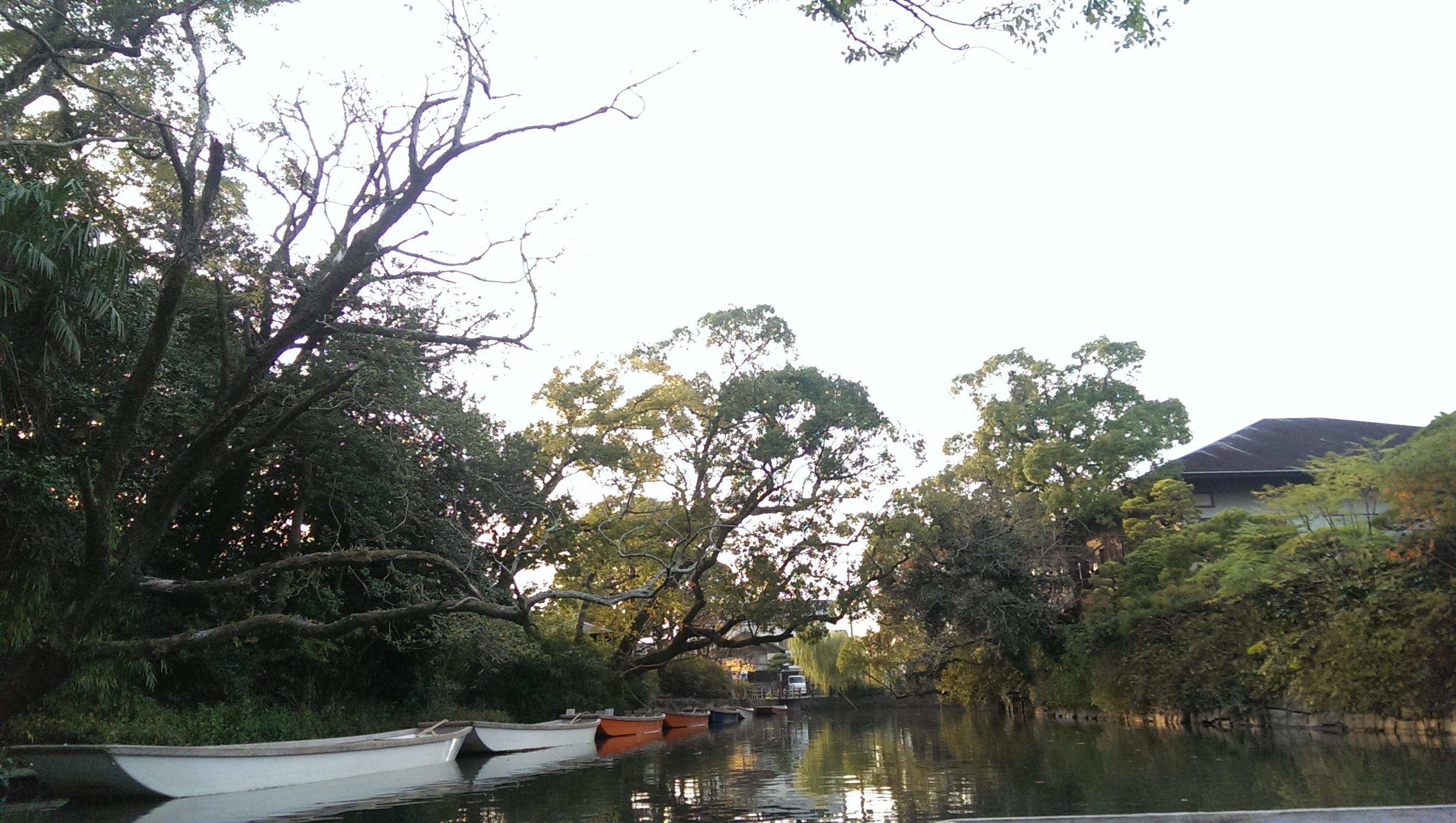 川下りの風景