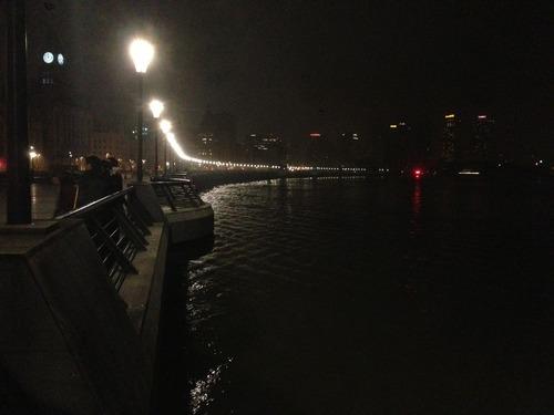 上海 夜の散歩