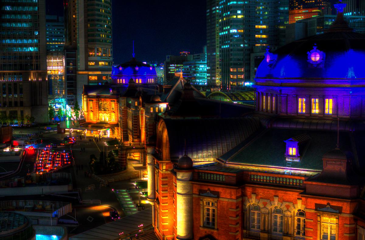 KITTE 屋上庭園 東京駅