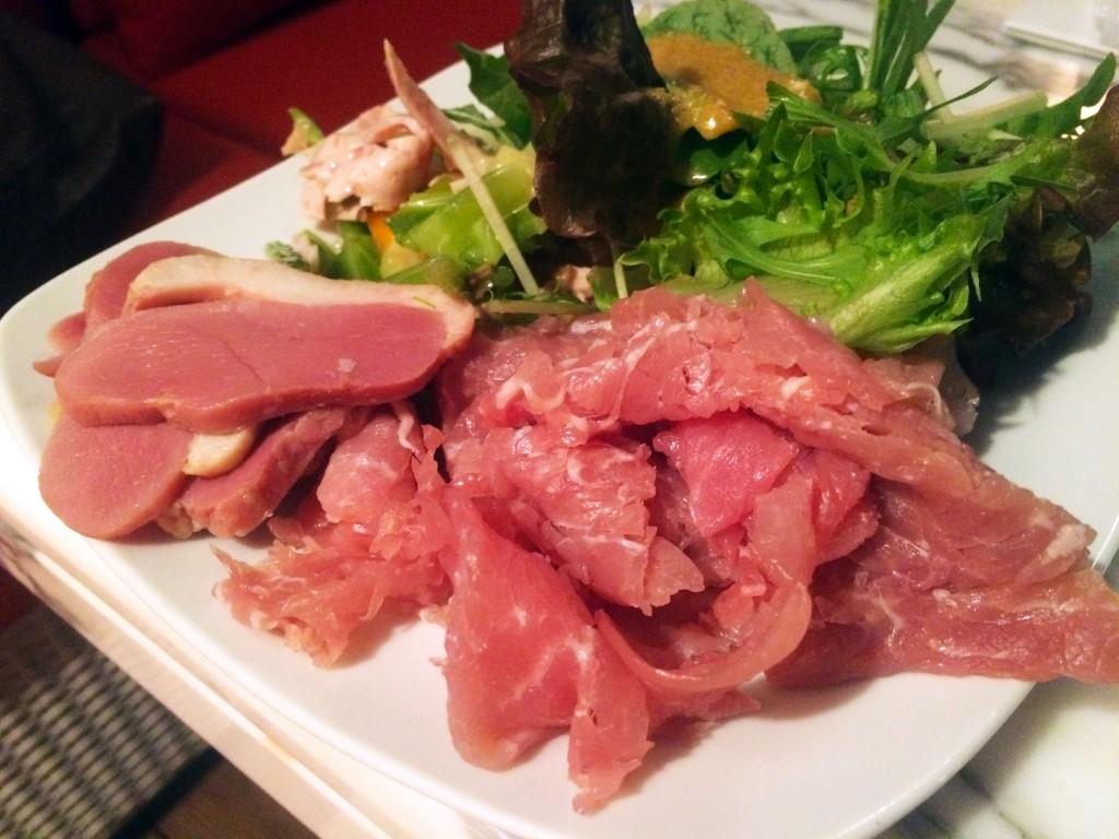 銀座トラットリア・コダマで生ハム食べ放題のランチビュッフェを大満喫!