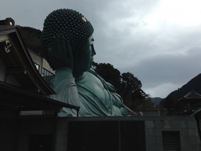 涅槃像頭部