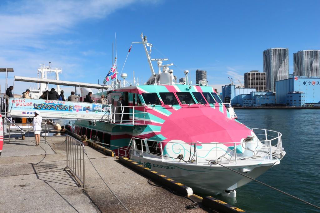 伊豆諸島航路のニューフェイス!高速船「セブンアイランド大漁」の就航記念クルーズに行ってきました!