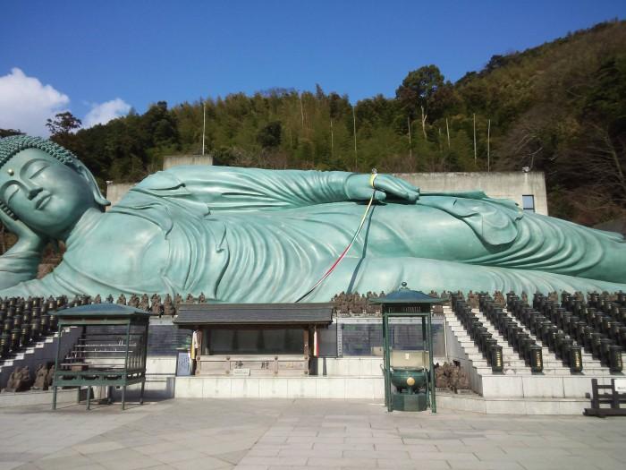 南蔵院涅槃像
