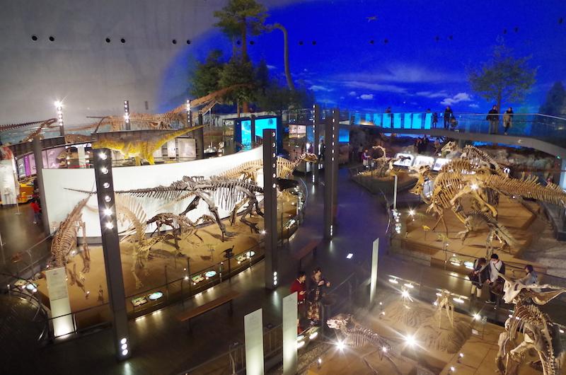 福井県立 恐竜博物館には、いまだに恐竜が生きている!
