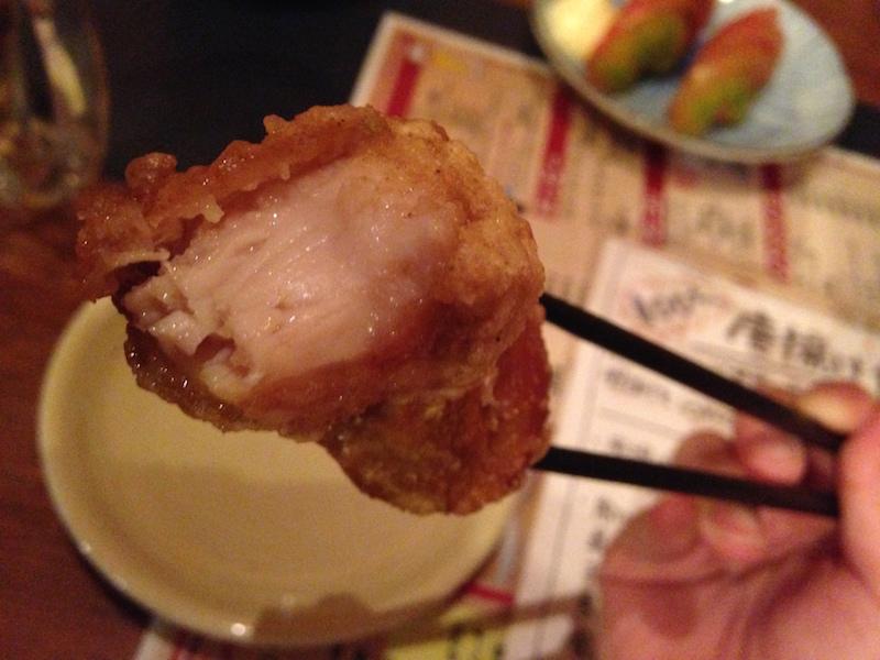 唐揚げ食べ放題が100円!の「有頂天酒場」で92個頂きました。