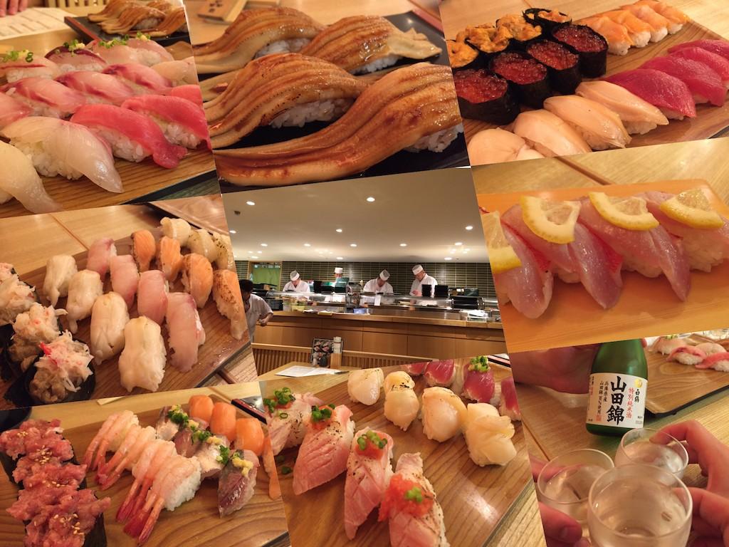 「雛鮨」西銀座店で高級寿司食べ放題!食い倒れるまで頬張り続けた結果