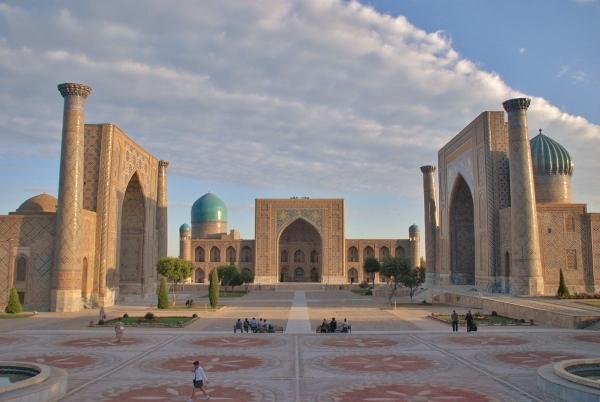 ウズベキスタン・サマルカンド
