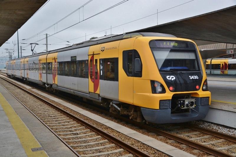 アゲダへの列車2