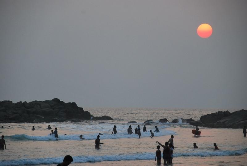 コヴァーラムビーチ2