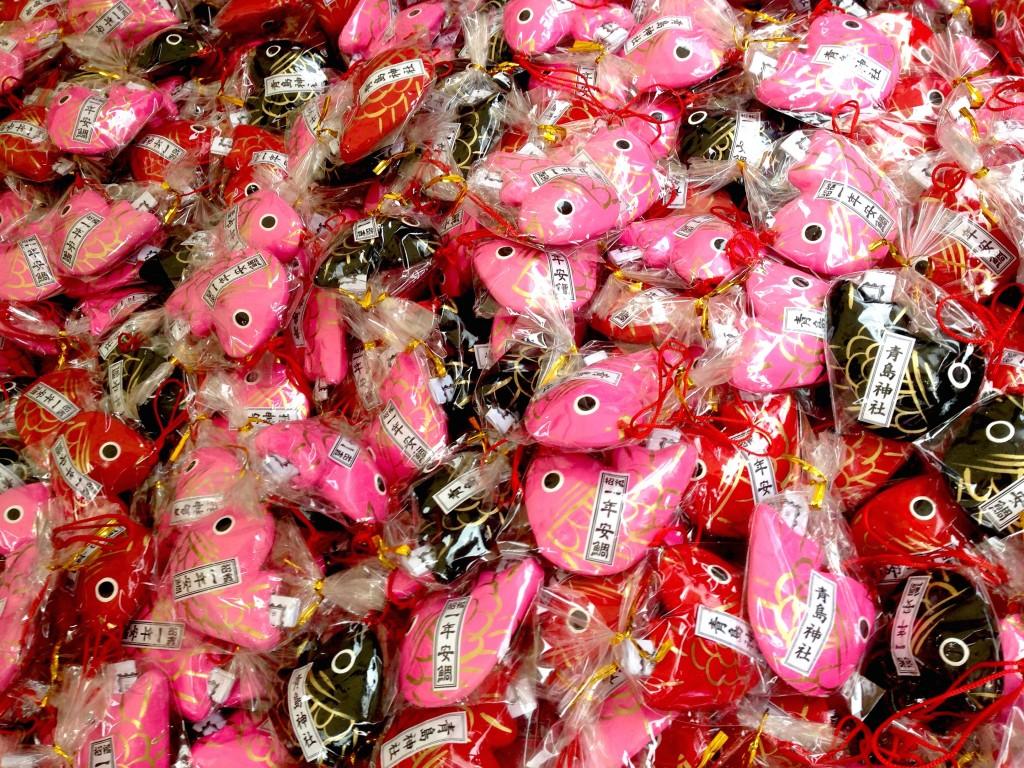 青島神社はおみくじ数日本最多!? アトラクション的おみくじも楽しめる!