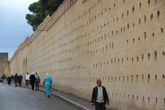 旧市街を囲む壁