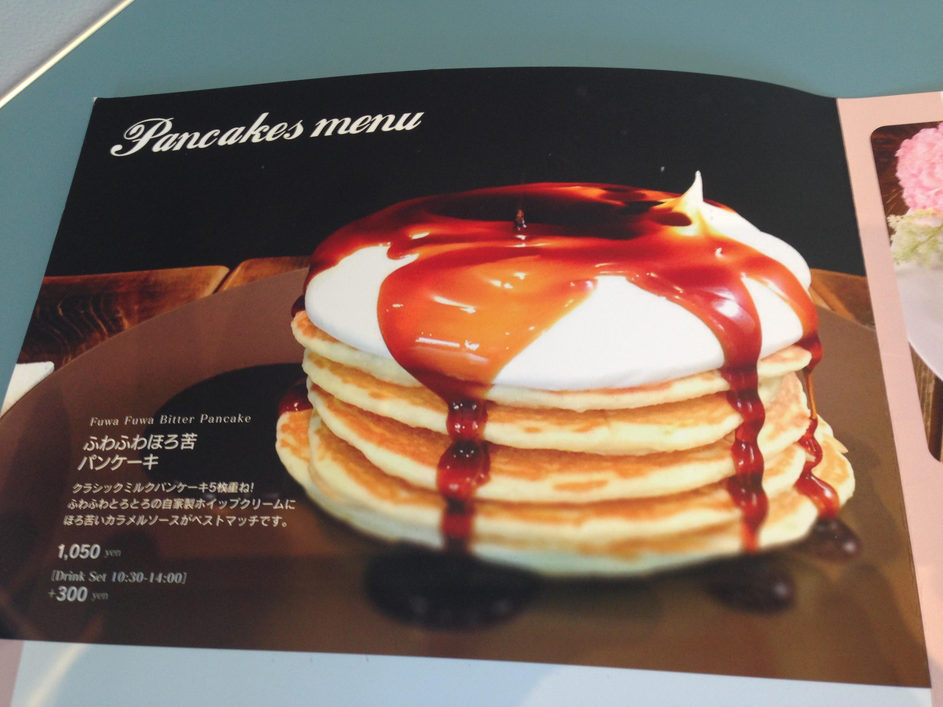 5段重ねパンケーキ
