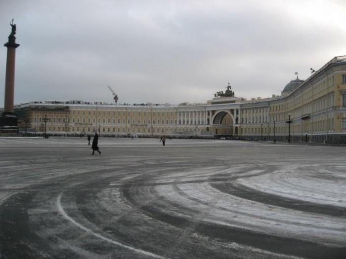 サンクトペテルブルク 独立広場