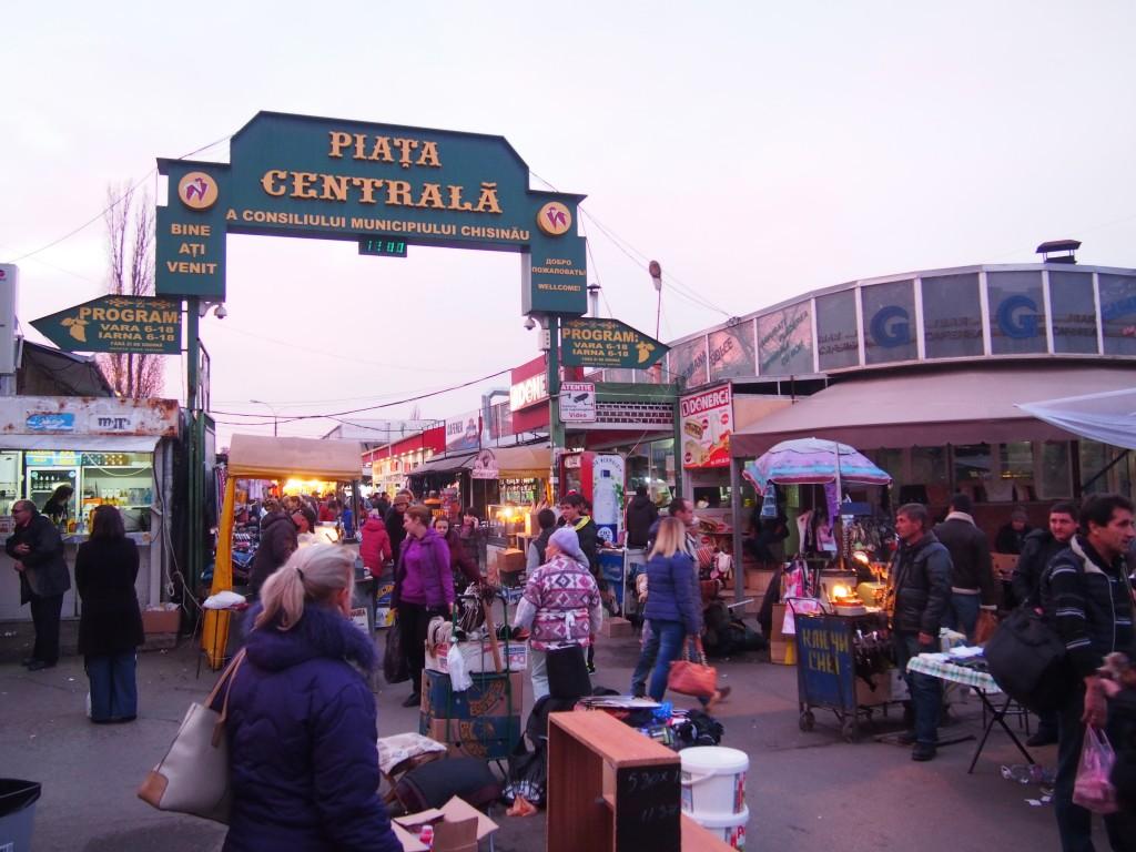 キシナウ中央市場