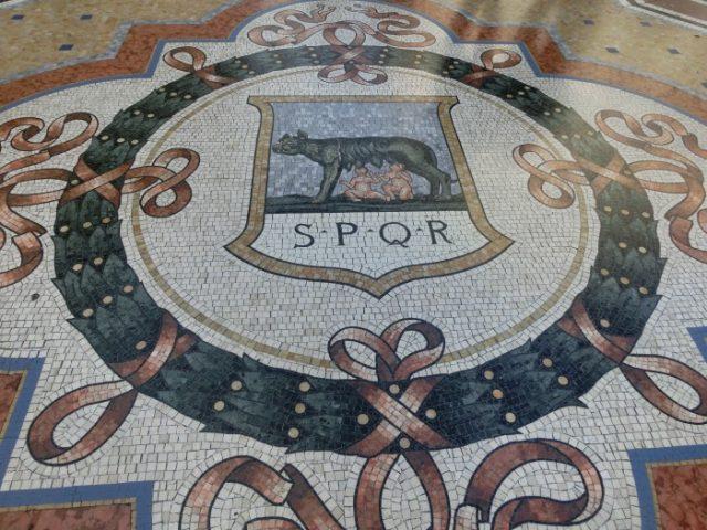 ローマの紋章