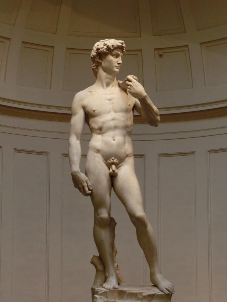 アカデミア美術館で本物のダヴィデ像を見よう!