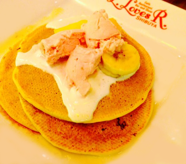 pancake2' strawberry