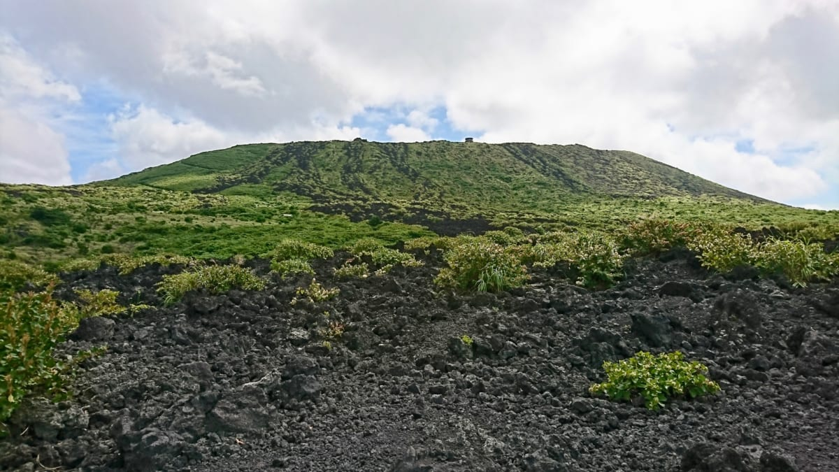 伊豆大島, 三原山, 火口, 伊豆諸島
