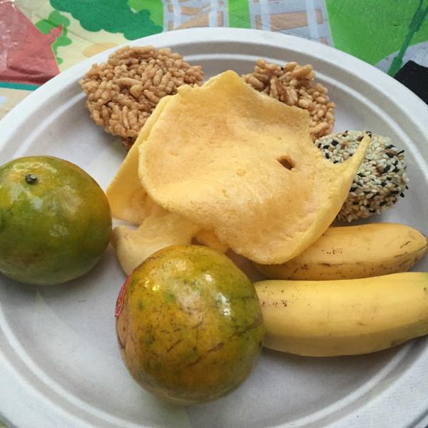 タイの伝統的な干菓子