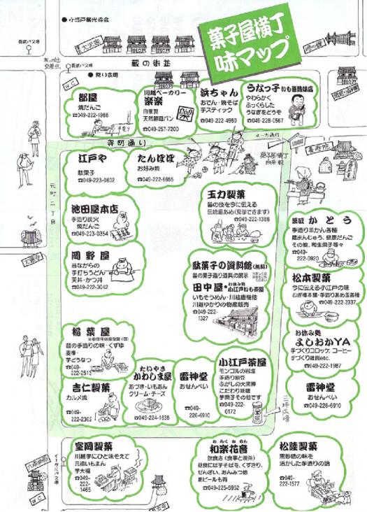■➒【川越菓子屋横丁マップ】●700px)