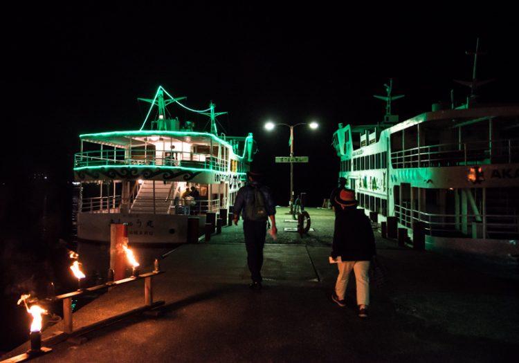 阿寒湖乗船