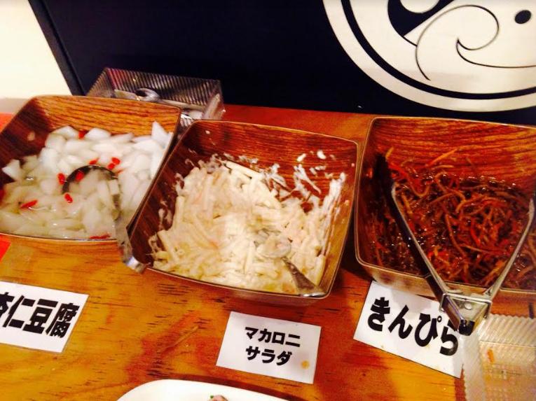 海鮮ネタ以外の副菜類