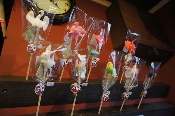 日本伝統工芸 飴細工を堪能
