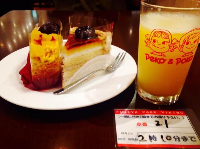 東京でここだけ!夢の「不二家のケーキ食べ放題」に挑戦!