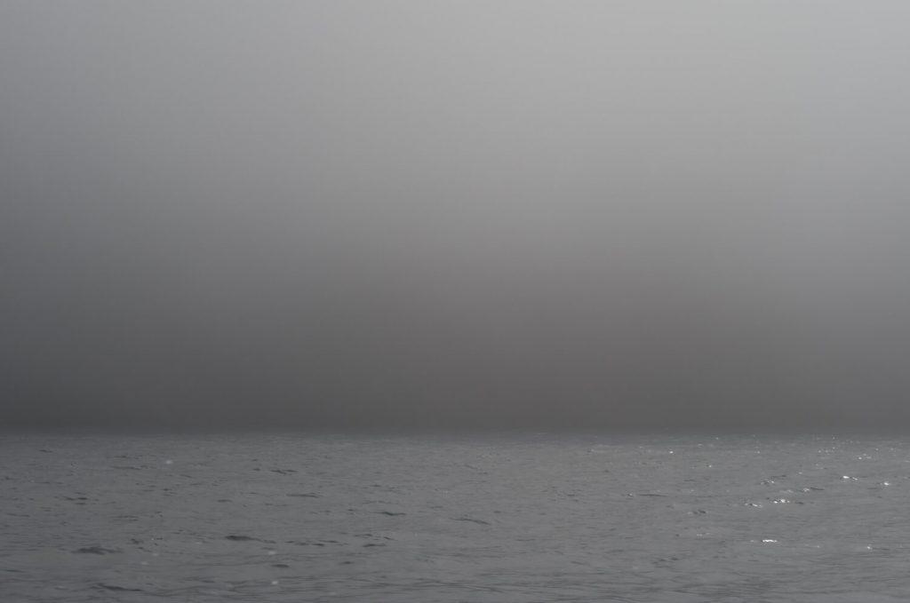 知床の濃霧