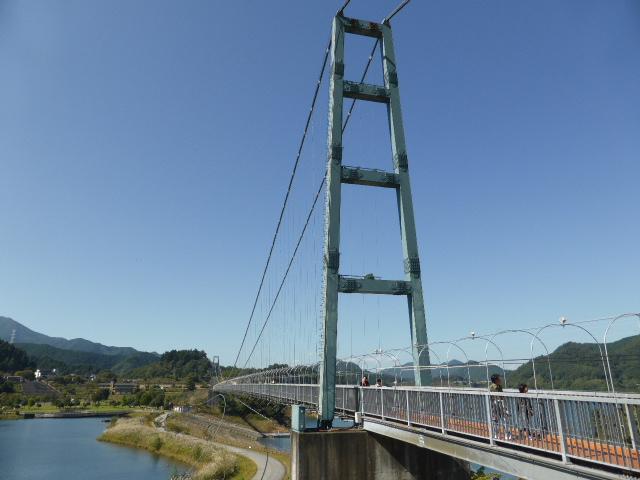 宮ヶ瀬 水の郷大つり橋