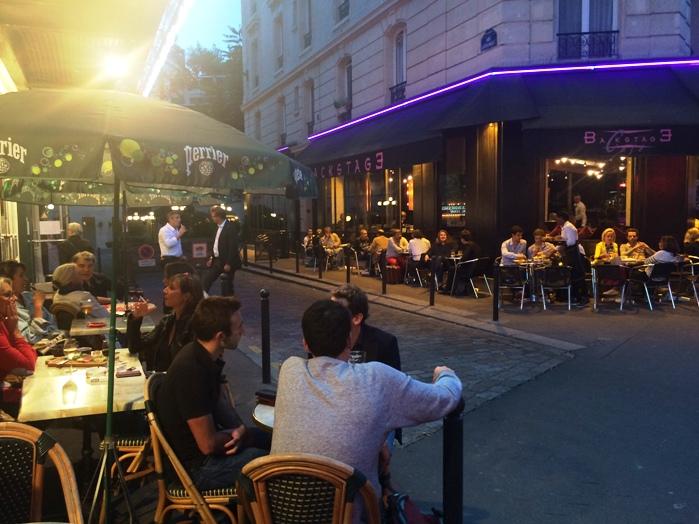 Paris rue de la gaité