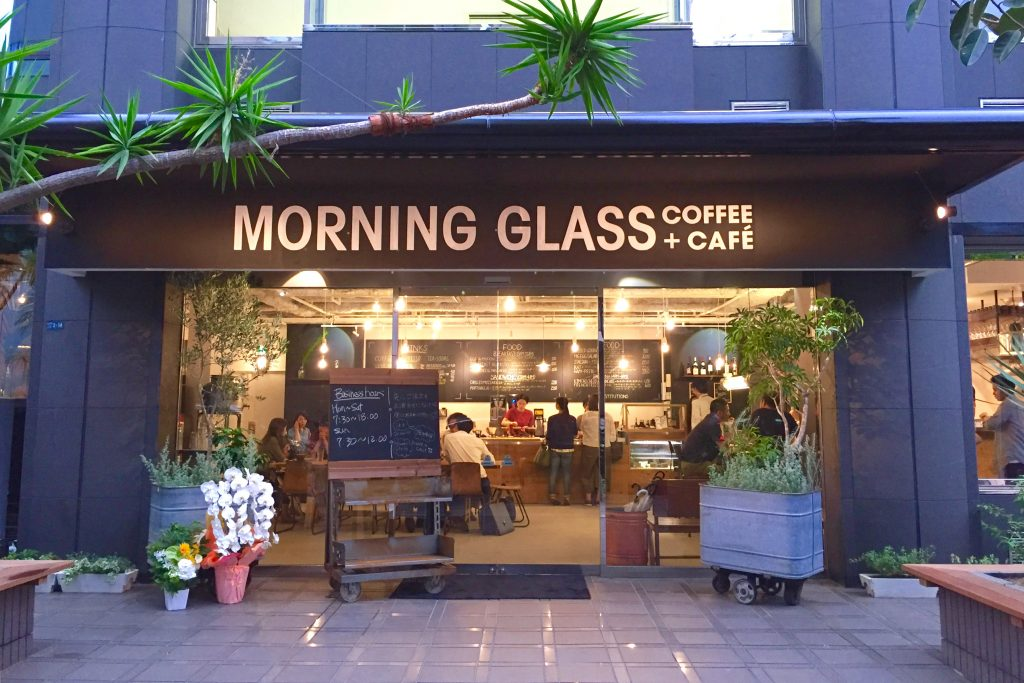 MORNING GLASS COFFEE + CAFĒ 大阪店