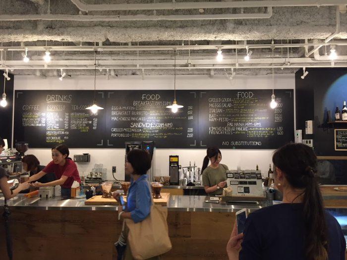 モーニンググラスコーヒー 大阪店 メニュー